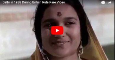 सन् 1938 मे ऐसा था दिल्ली शहर | देखे वीडियो |