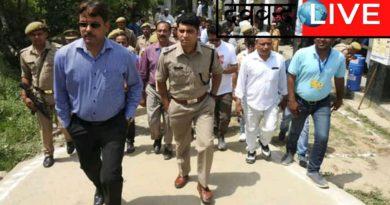 सहारनपुर मतदान अपडेट,पुलिस कर रही बिना डरे वोट डालने की अपील